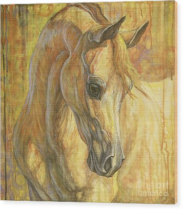 Gentle Spirit Wood Print by Silvana Gabudean Dobre