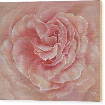 Gentle Wood Print by Tanya Byrd