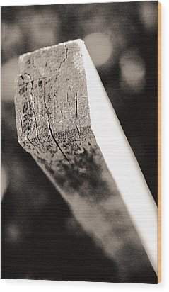 Wood Print featuring the photograph Geometry by Arkady Kunysz