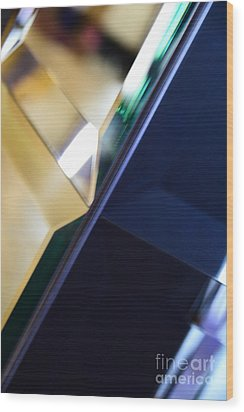 Geometry Of Light IIi Wood Print by Thomas Carroll