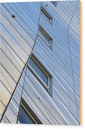 Wood Print featuring the photograph Geometry by Yue Wang