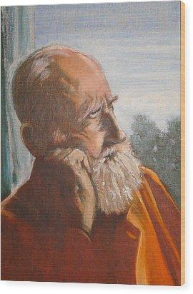 George Bernard Shaw Wood Print