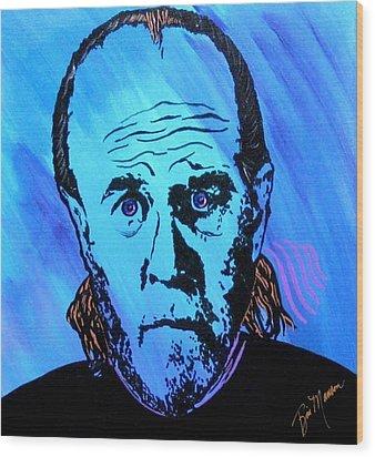 George Carli So What Wood Print