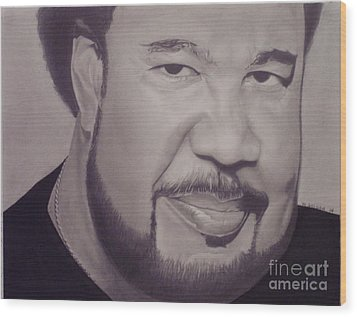 George Duke Wood Print