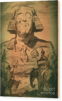 George Washington At His Best Wood Print