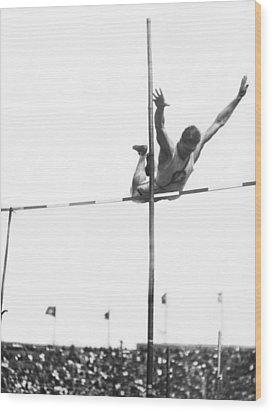 Georgetown Decathlon Star Wood Print by Underwood Archives