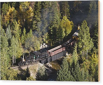 Georgetown Loop Railroad Wood Print