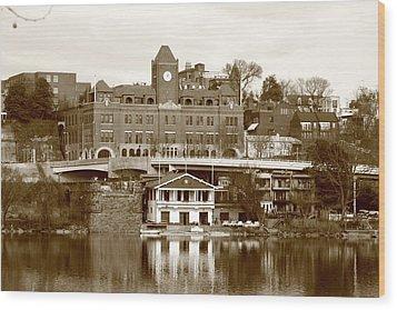 Georgetown Wood Print