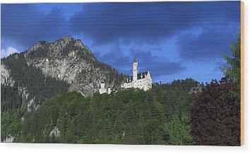 German Castle Wood Print