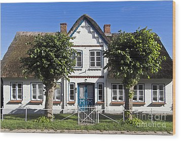 German Country House  Wood Print by Heiko Koehrer-Wagner