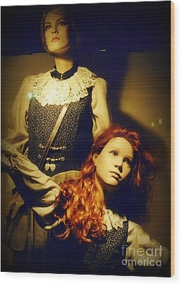 German Mannequins Wood Print by Halifax Photography John Malone