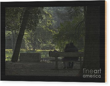 Romantic Moments Wood Print