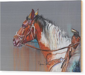Get Along Home Susie Wood Print by James Skiles