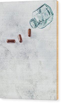 Get Well Soon Wood Print by Joana Kruse