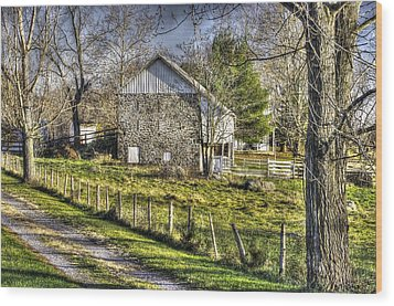 Wood Print featuring the photograph Gettysburg At Rest - Sarah Patterson Farm Field Hospital by Michael Mazaika