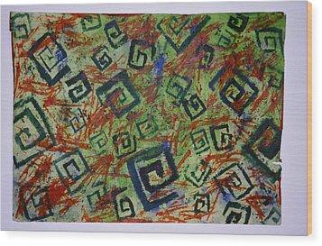 Ghana No 5 Wood Print