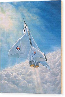 Ghost Flight Rl206 Wood Print