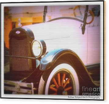 Ghost From The Past Wood Print by Bobbee Rickard