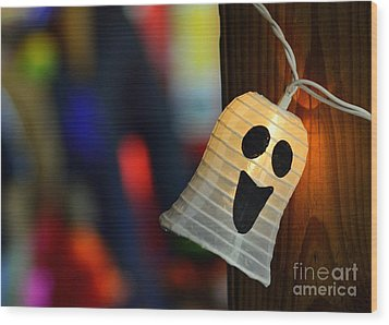Wood Print featuring the photograph Ghost Light by Lisa L Silva
