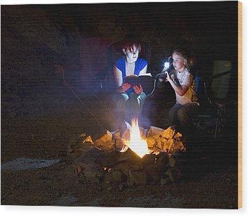Ghost Stories Wood Print by Jack Moody