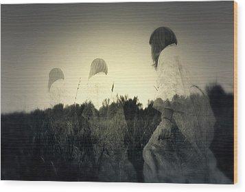 Ghost Stories Wood Print by Scott Hovind
