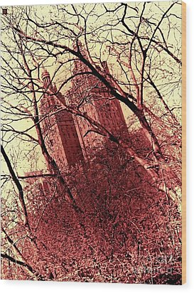 Ghostly Towers Wood Print by Andy Heavens