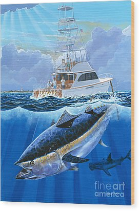 Giant Bluefin Off00130 Wood Print