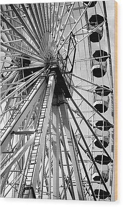 Giant Wheel Wood Print