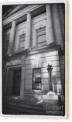 Gibbes Museum Of Art Wood Print by John Rizzuto