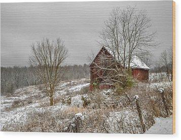 Gibisonville - Ohio Wood Print by Brian Stevens