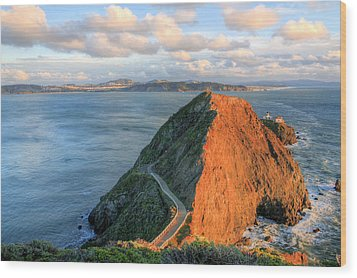 Gibraltar Wood Print by JC Findley