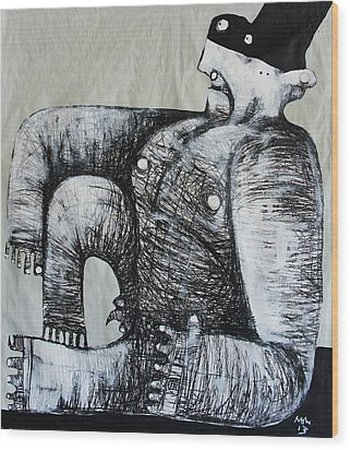 Gigantes No. 5 Wood Print by Mark M  Mellon