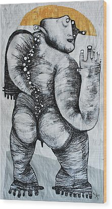 Gigantes No. 6 Wood Print by Mark M  Mellon