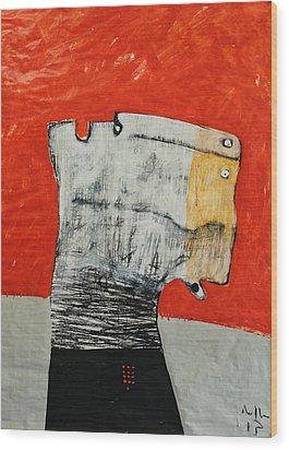 Gigantes No. 9 Wood Print by Mark M  Mellon