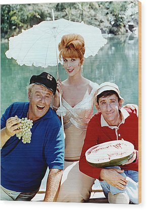Gilligan's Island  Wood Print by Silver Screen
