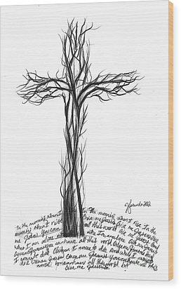 Give Me Jesus Wood Print by J Ferwerda