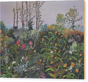 Giverny 2 Wood Print by Julie Todd-Cundiff