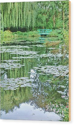 Giverny Wood Print by Olivier Le Queinec