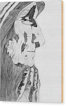 Giving Of Joy Wood Print by Gautam Modi