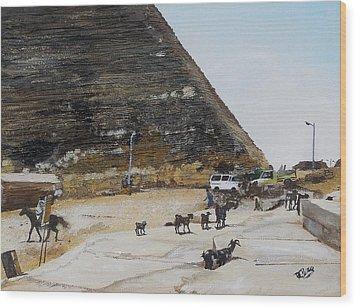 Gizeh-egypt Wood Print