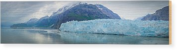 Wood Print featuring the photograph Glacier Bay Panoramic by Janis Knight