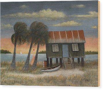 Glades Dweller Wood Print