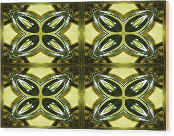 Glass Art 01 Wood Print by Ester  Rogers