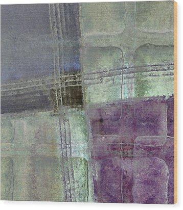Glass Crossings Wood Print by Carol Leigh