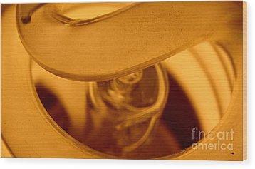 Glass Light Wood Print