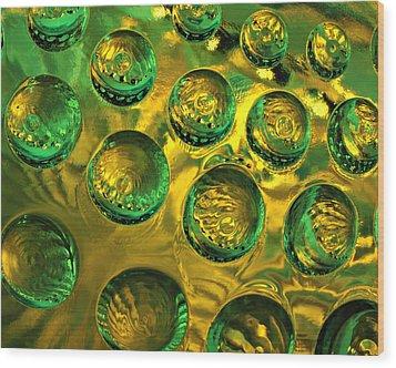 Glass Works 21 Wood Print