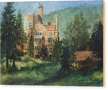Glen Eyrie Sunrise Wood Print