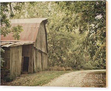 Glendale Barn Wood Print