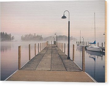 Glendale Docks Wood Print