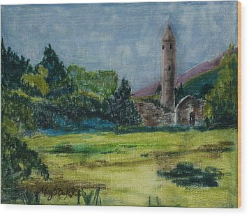 Glendalough Wood Print
